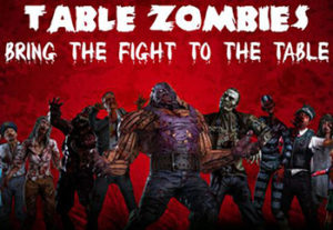 table zombies augmented reality mobile game